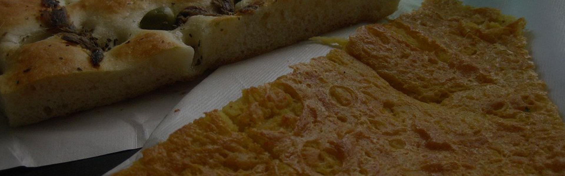 Farinata e focaccia tipo recco zenandcook - Corsi di cucina genova ...