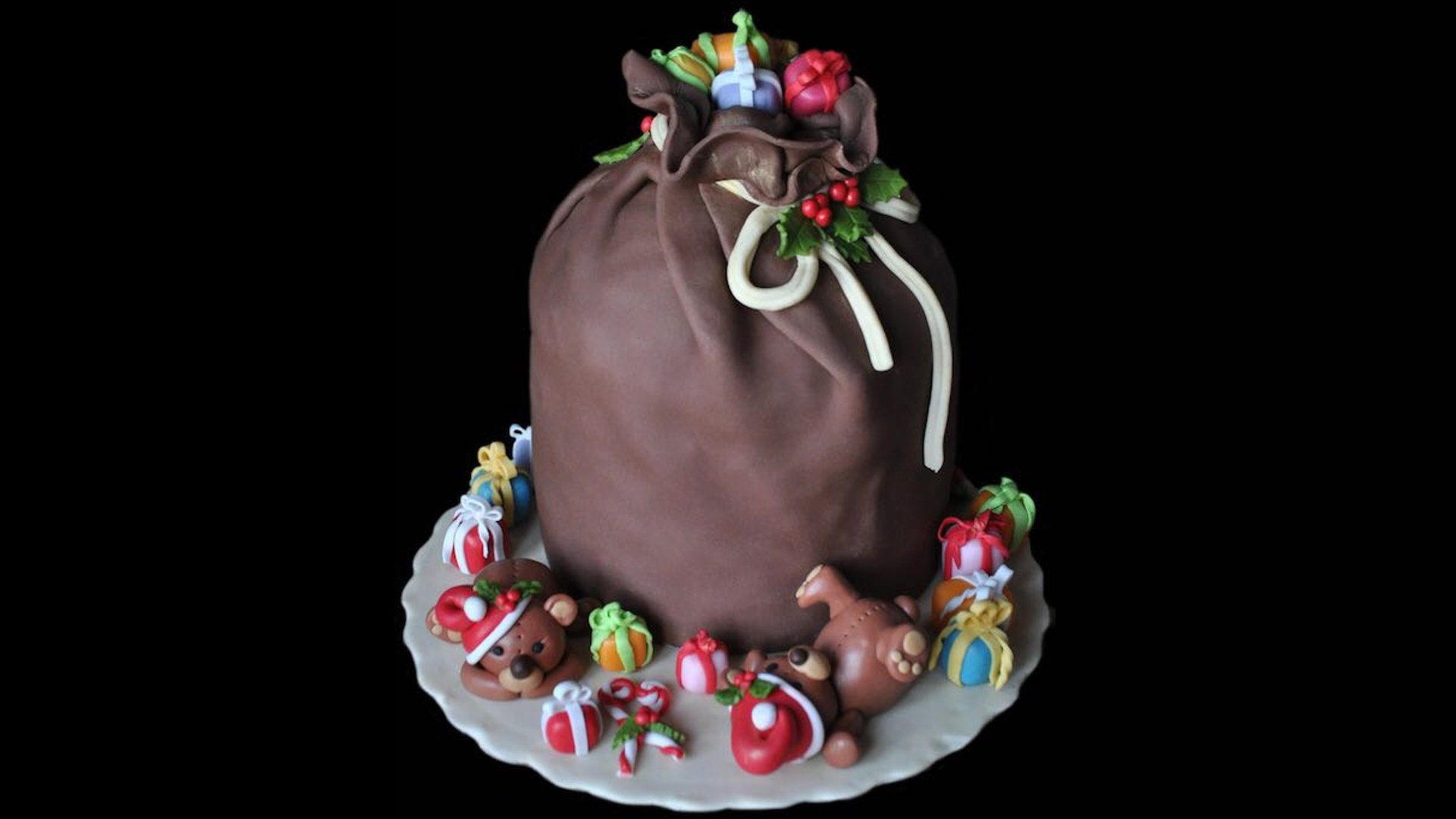zenandcook junior cake-design christmas