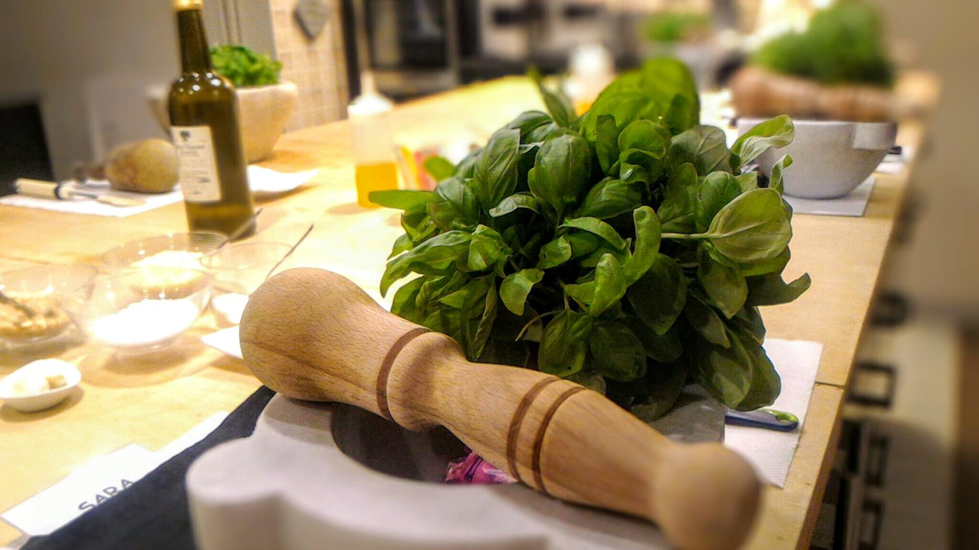 Profumo di basilico zenandcook - Corsi di cucina genova ...